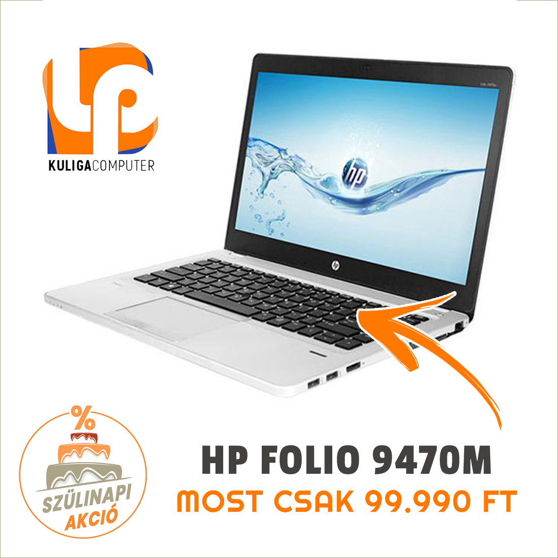 HP Folio 9470M
